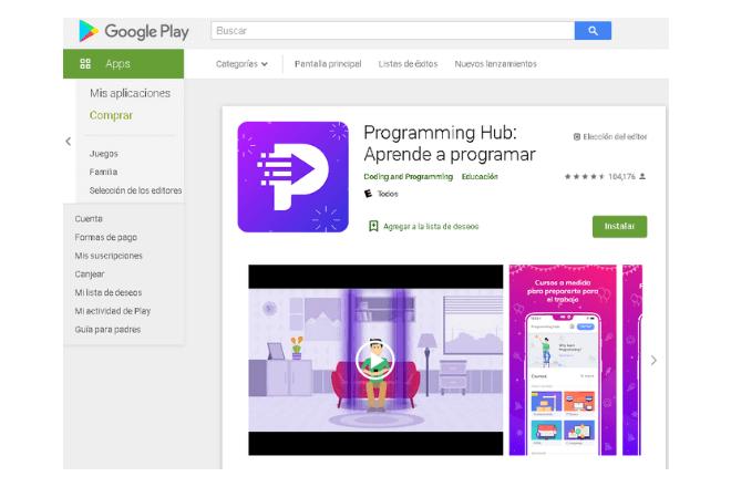 aplicaciones para aprender a programar