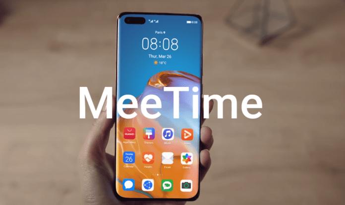 MeeTime videoconferencia con Huawei