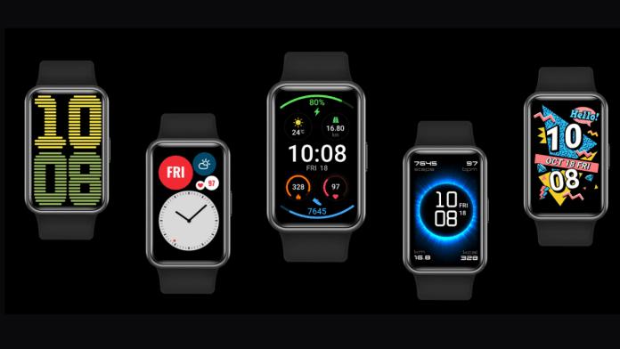 El Huawei Watch Fit, un reloj inteligenteideal para regalar en San Valentín.