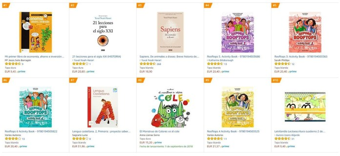 Libros en Amazon