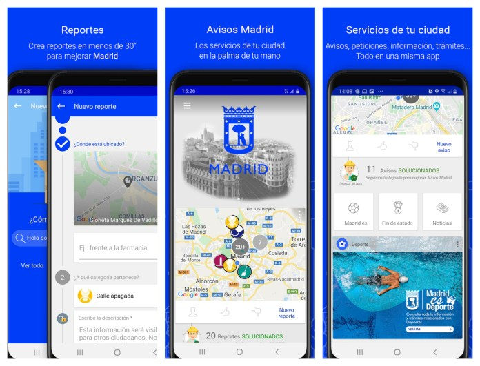 app Madrid Móvil