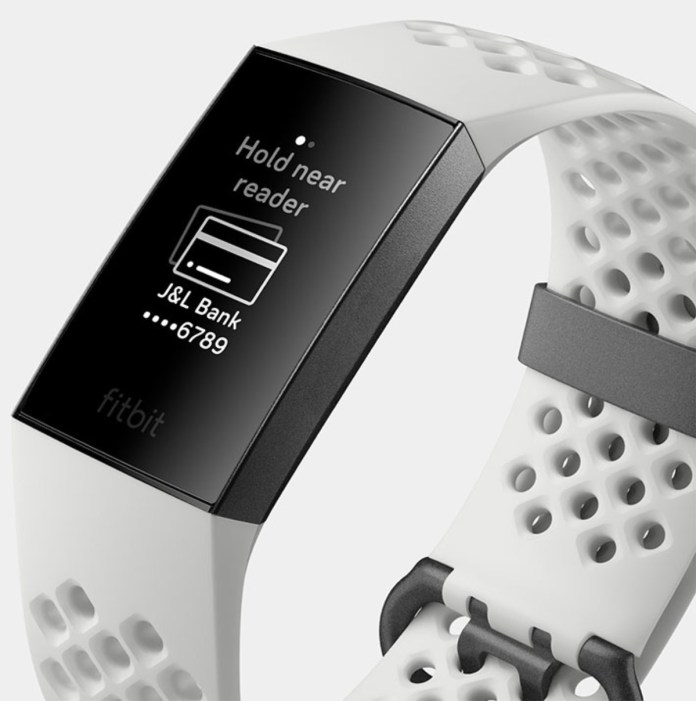 Fitbit color blanco