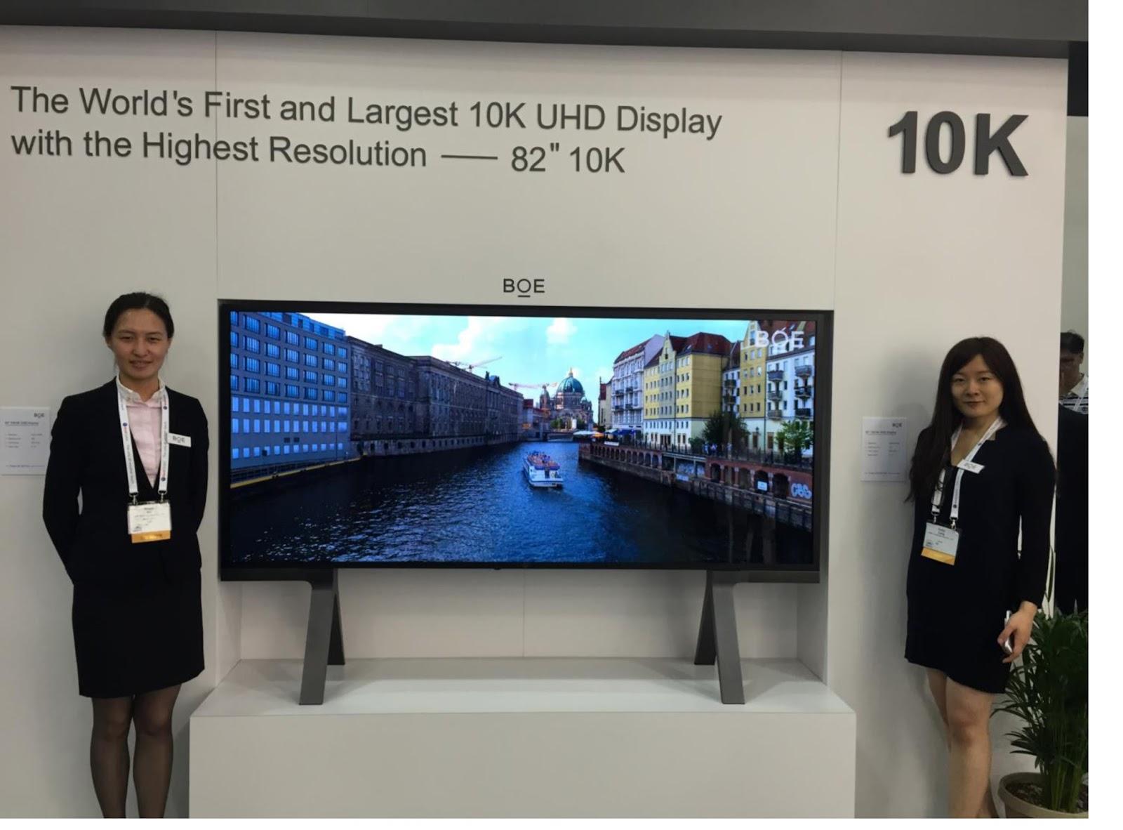 ¿Una tele con 10K? Existe… a modo de prototipo