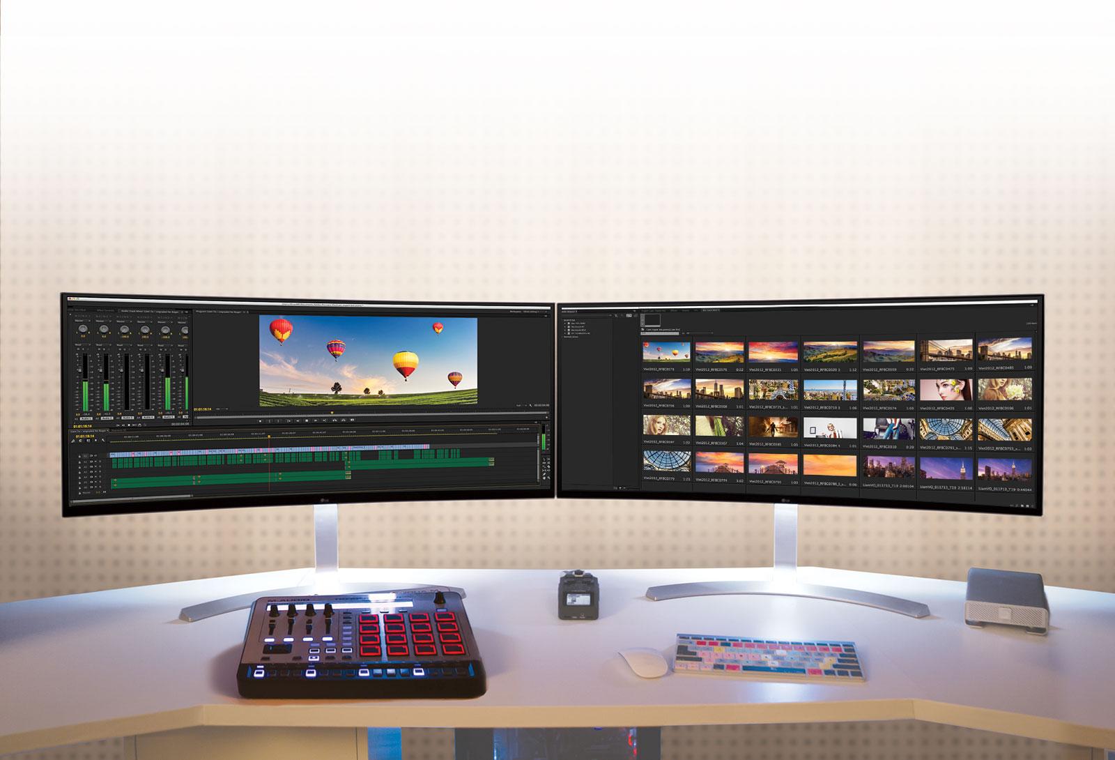 LG 38UC99-W, monitor 21:9 con pantalla IPS