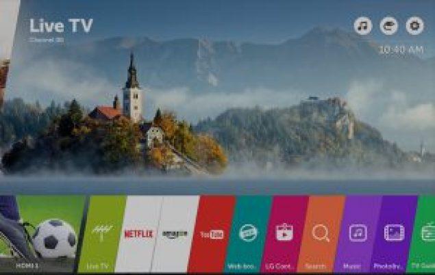 LG 55SJ850V cuenta con un sistema operativo webOS 3.5