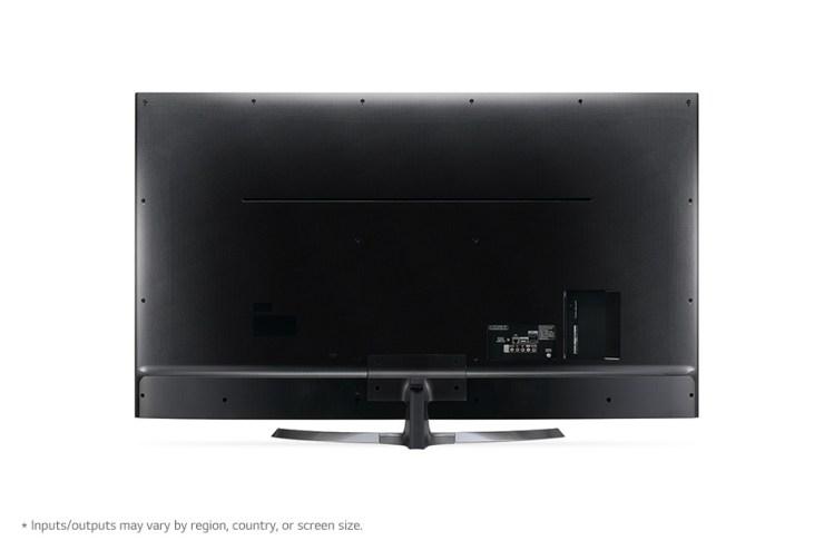 La trasera de esta TV es cerámica