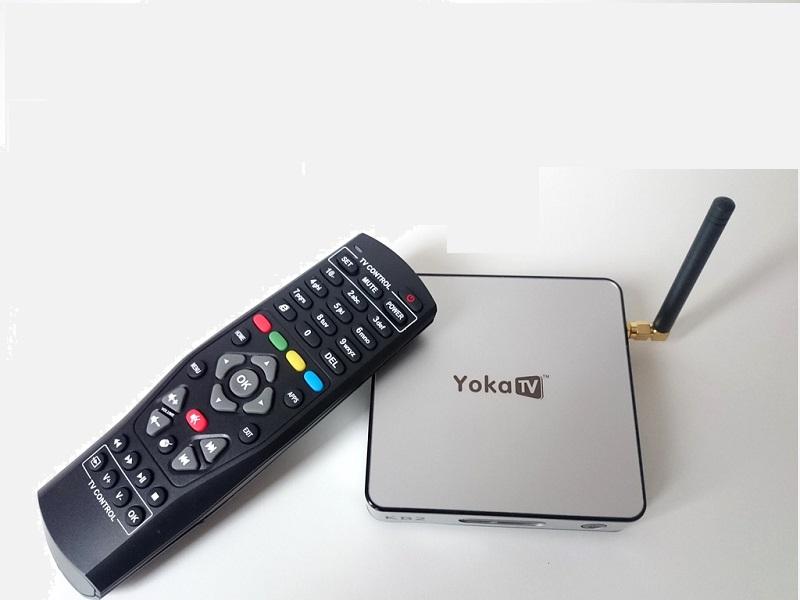 Yoka KB2, Android TV con 2 GB de RAM DDR3