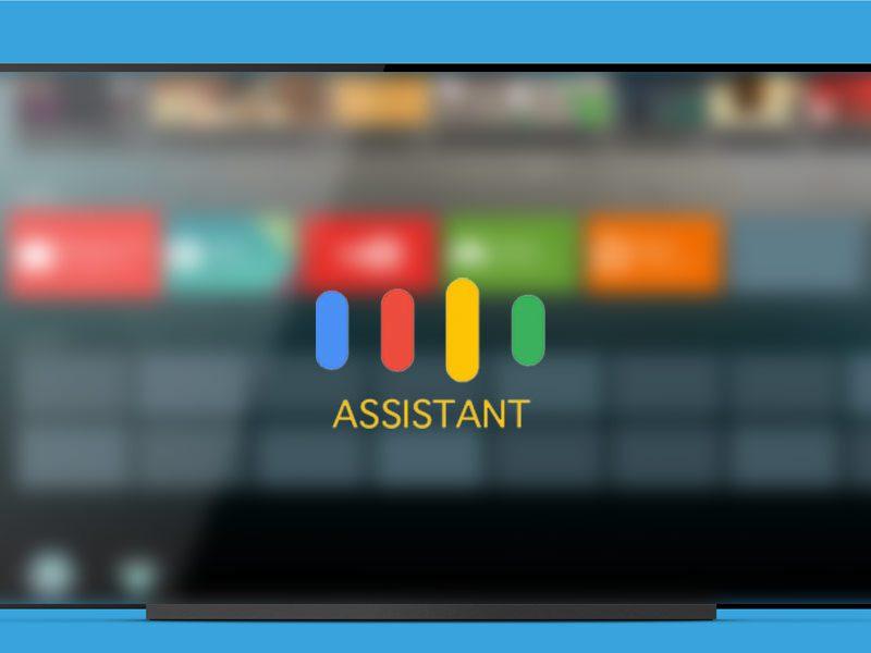 Google Assistant en SmartTVs