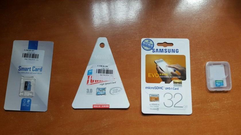 tarjetas microsd de 32 gb