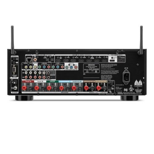 Denon AVR-X2300W, terminales