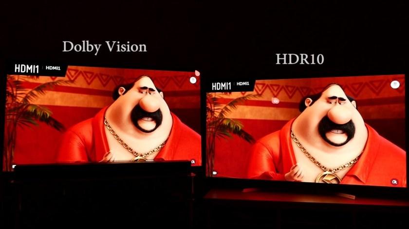 También disfrutamos de Dolby Vision