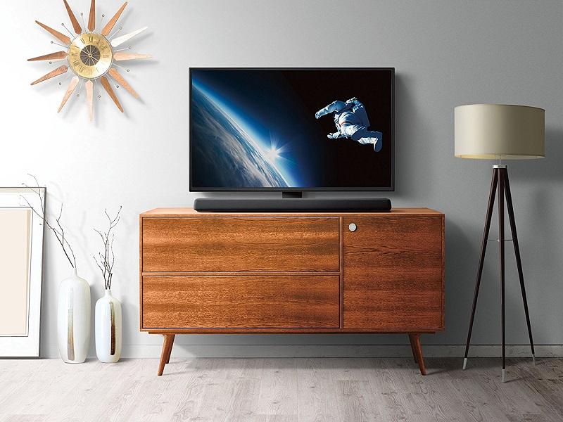 yamaha yas 107 una barra de sonido con una sorprendente. Black Bedroom Furniture Sets. Home Design Ideas