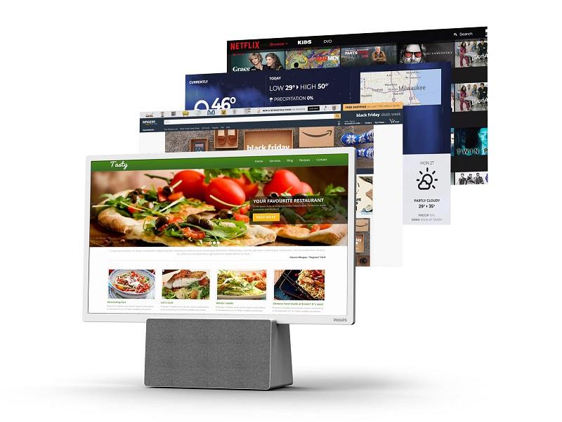 Redescubre el concepto de televisor para la cocina con el Philips 7703
