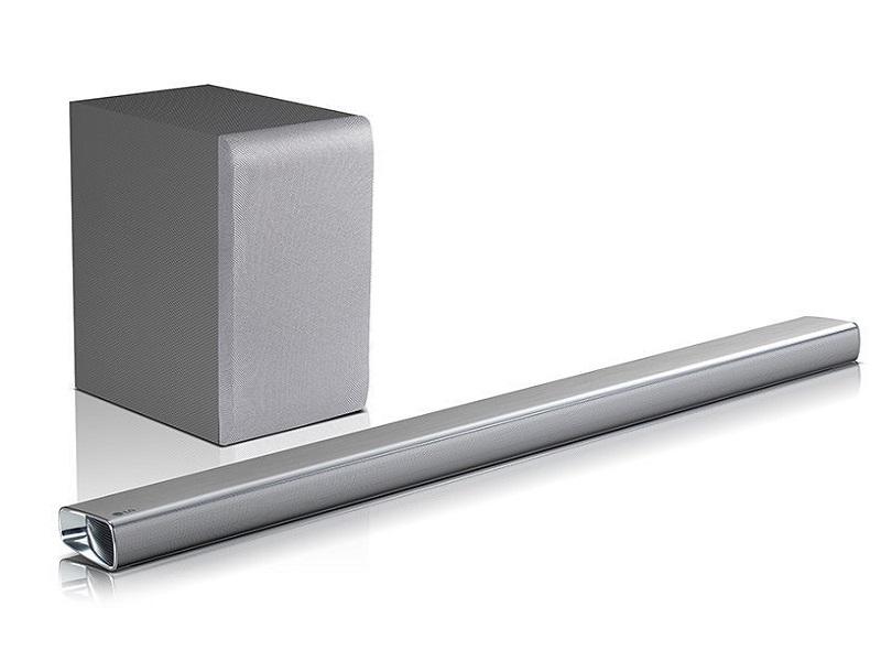 LG SJ6, una barra de sonido para presumir con los amigos en casa