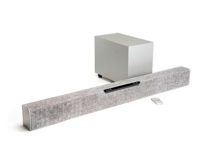 Jamo SB40, barra de sonido elegante con soporte para TV´s 4K