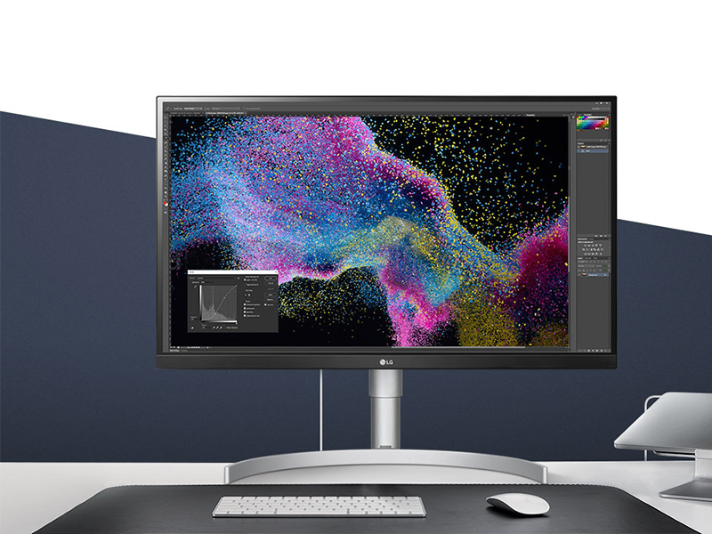 LG 27UK650-W. un gran monitor de alta gama lleno de contrastes