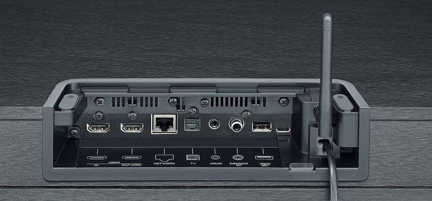 Yamaha SRT-1500, conexiones