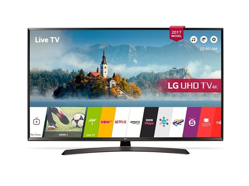LG 55UJ634V, un TV con escalador a 4K UHD y HDR