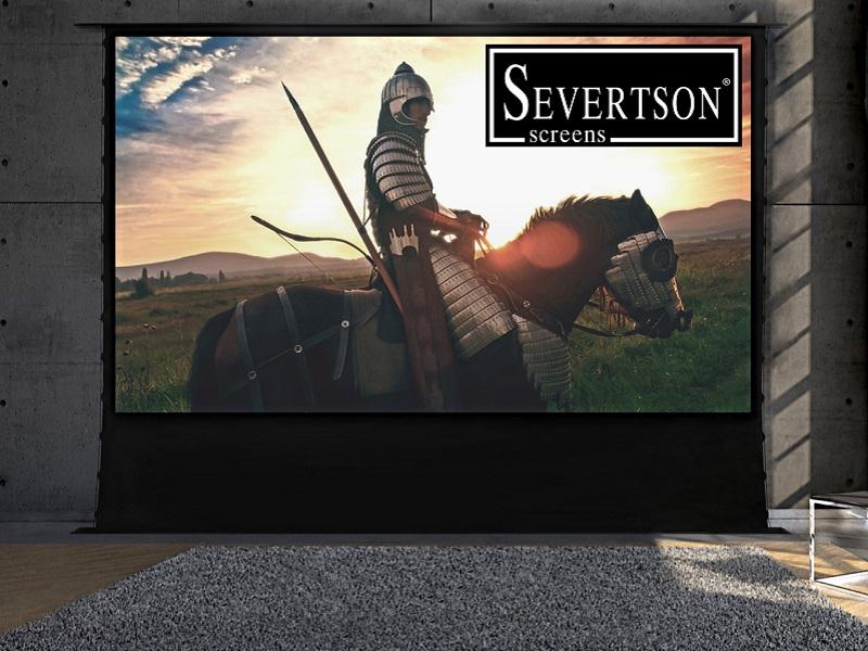 La pantalla de Severston se puede esconder en el suelo