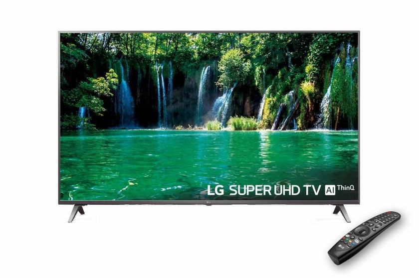 Este es el aspecto del televisor LG 49SK8000