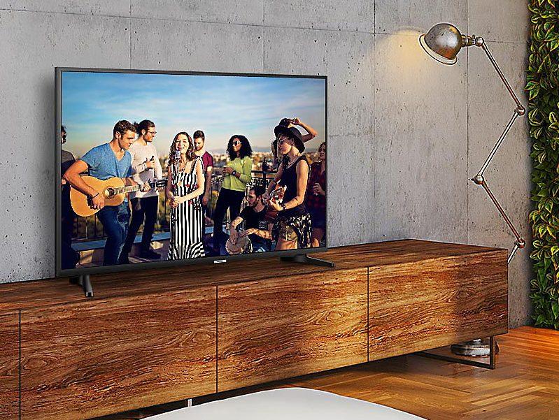Samsung UE55NU7092, gama media que destaca por su imagen