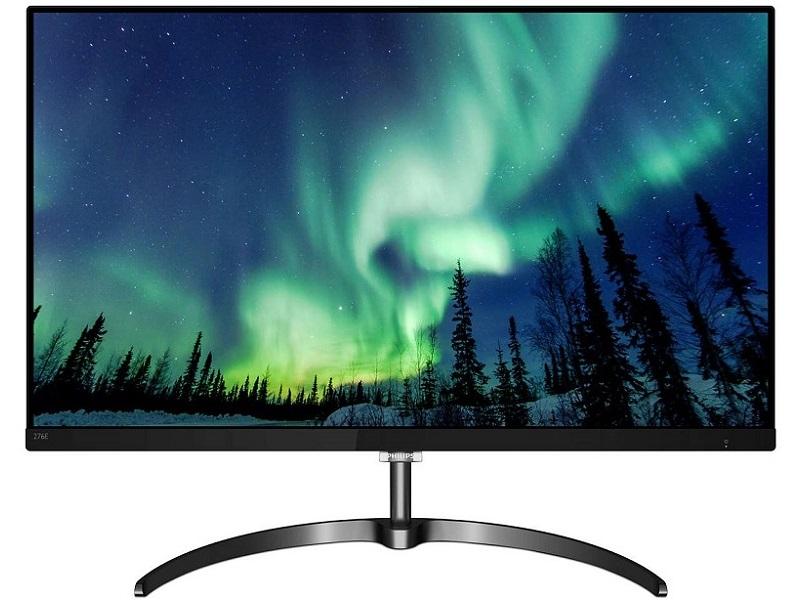 Philips E-Line 276E8VJSB, los monitores 4K llegan a las 27 pulgadas