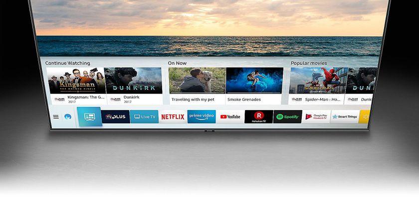 El televisor es inteligente y te ofrece cantidad de posibilidades para disfrutar del contenido