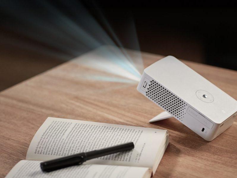 LG PH30J, un proyector con pequeño tamaño, pero gran proyección
