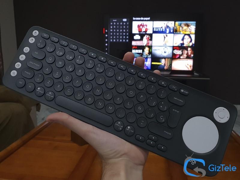 Logitech K600 TV, análisis en español del mejor teclado para tu Smart TV