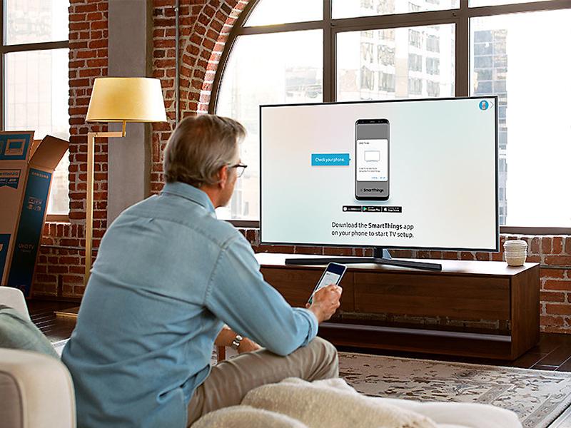 Samsung UE50NU7475, gama media bien equipada y a buen precio