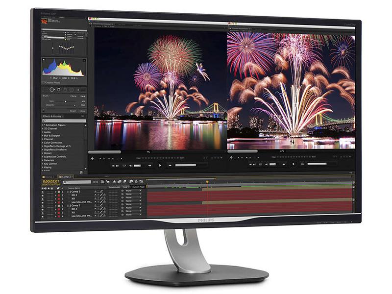 Philips 328P6VUBREB/00, un monitor 4K para el profesional