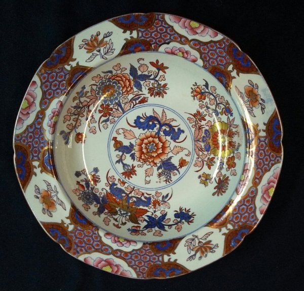 Spode Stone China Part Dinner Service With Chinoiserie