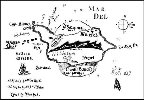 Captain Kidd Treasure Maps: The Reality