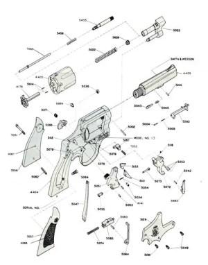 S&W 357 Military & Police Revolver Model 13 | Bangor Punta Archives
