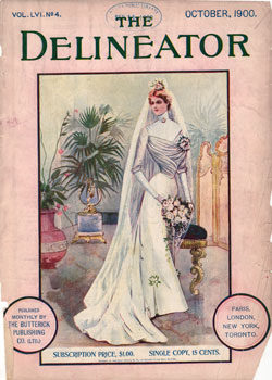 The Delineator Magazine October 1900  GG Archives