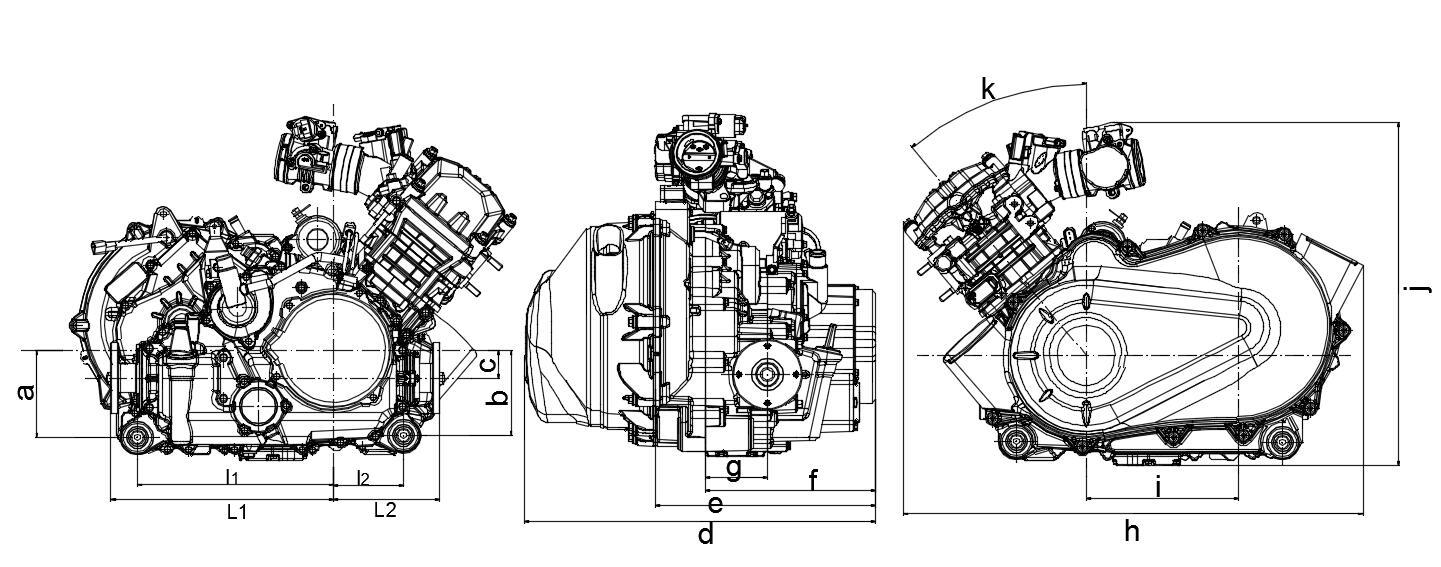 China 300CC ATV UTV Tricycle Engine Manufacturers and