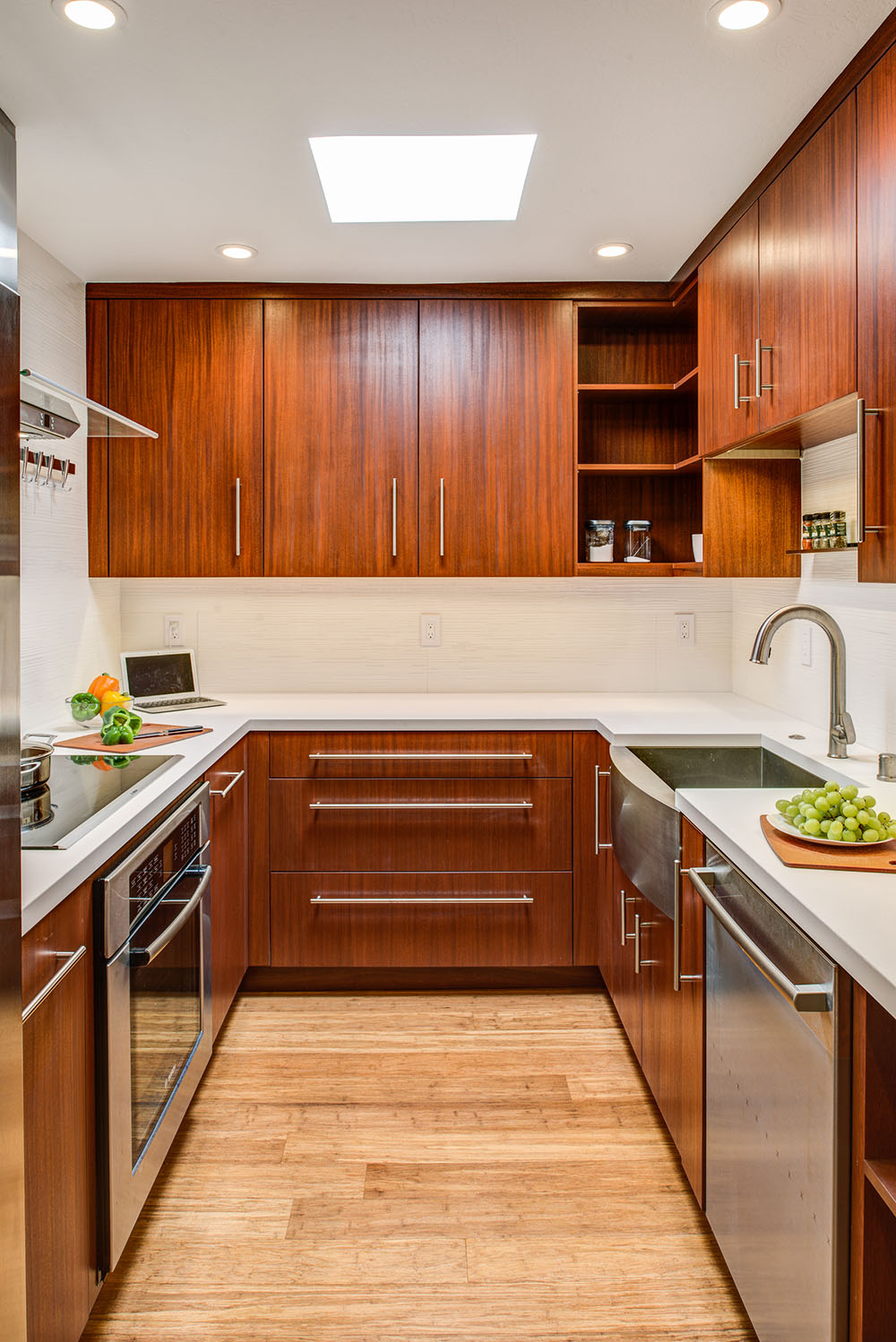 kitchen cabinet stain rubber mats mahogany cabinets | gilmans