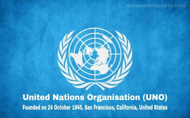 United Nations Organisation MCQ