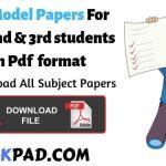 BA Model Papers