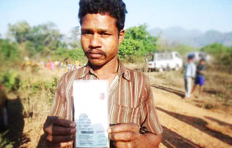biometric ration cards printing