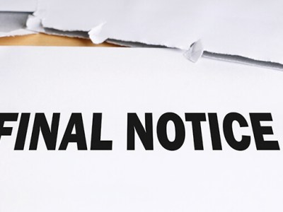Final Notice Letter for Oil and Gas Owners