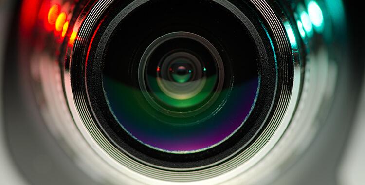 Camera Lens from Web Cam