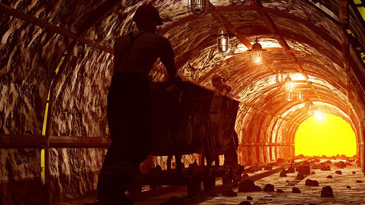 Coal Miner Worker
