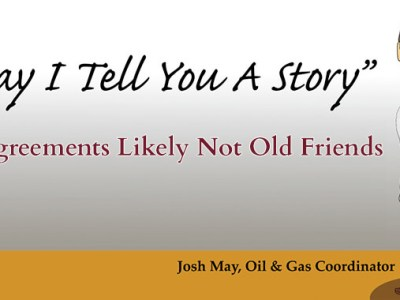 Old Agreements Likely Not Old Friends