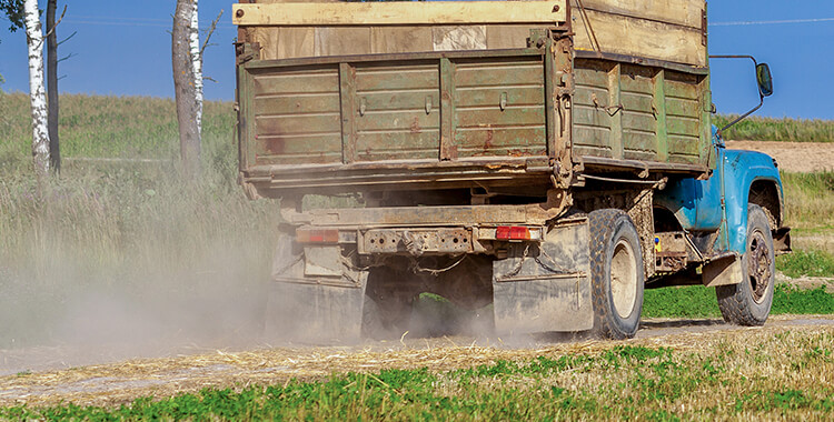 Need an oil and gas lawyer to help stop trucks kicking up dirt.