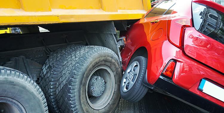 Bad truck accident