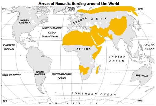 characteristics of nomadic pastoral societies