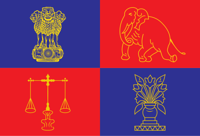 Flag of the President of India