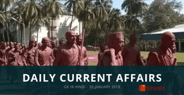 Current Affairs General Knowledge