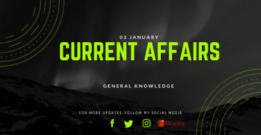 Daily Current Affiars General Knowledge 03 January 2019